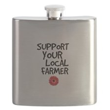 Support Local Farmer Flask