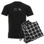 Wine Junkie Men's Dark Pajamas