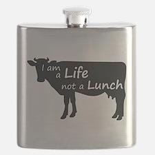 Cute Vegetarian Flask