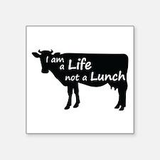 """Unique Lunch Square Sticker 3"""" x 3"""""""