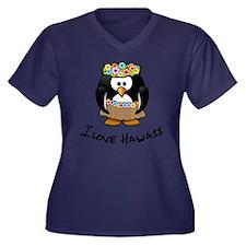 Hawaii Penguin Plus Size T-Shirt