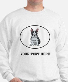 Custom Boston Terrier Sweatshirt