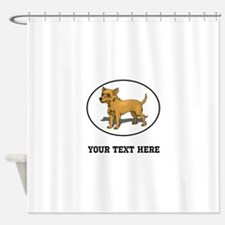 Custom Chihuahua Shower Curtain