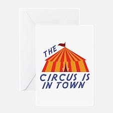 Circus Town Greeting Cards