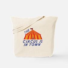 Circus Town Tote Bag