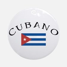 Cubano Ornament (Round)