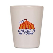 Circus Town Shot Glass