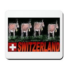 Cow Trailing Mousepad