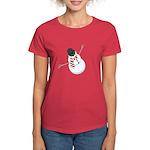 Bliz the Snowman Women's Dark T-Shirt