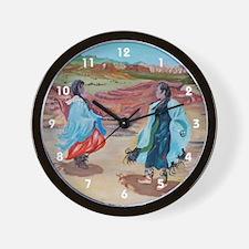 Native Dance Wall Clock