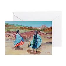 Native Dance Greeting Card