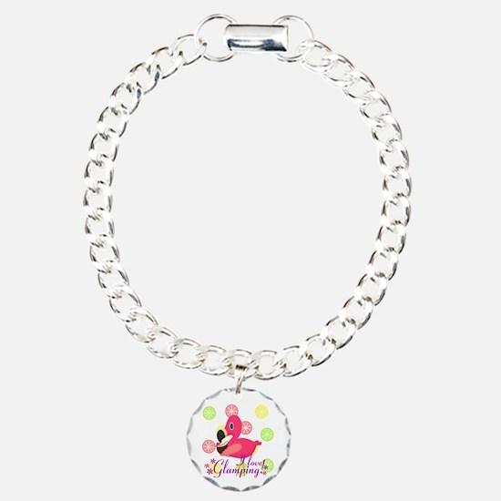 Glamping Flamingo Bracelet