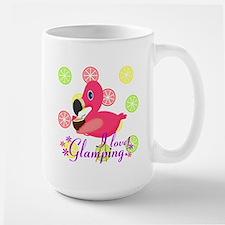Glamping Flamingo Mugs