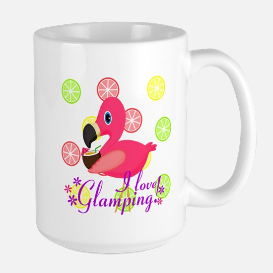 Glamping Flamingo Mugs