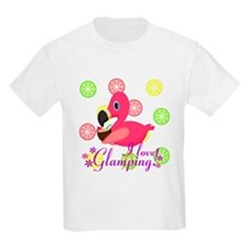 Glamping Flamingo T-Shirt