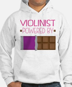 Violinist Chocolate Quote Hoodie