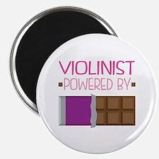 Violinist Chocolate Quote Magnet