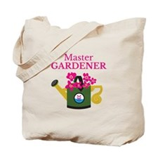 Master gardener watering can pansy Tote Bag