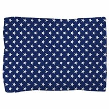 White Stars Pillow Sham