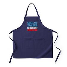 Great Dads Promoted Peepaw Apron (dark)