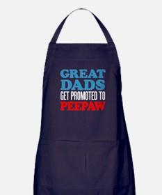 Great Dads Promoted Peepaw Apron (dark)