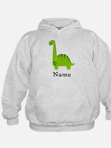 Green Dinosaur (p) Hoodie