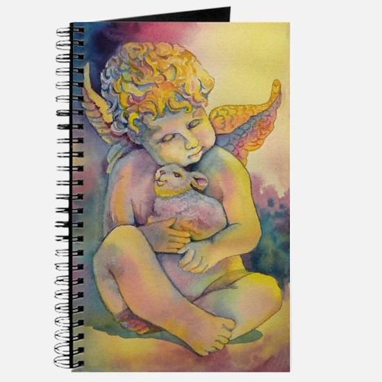 angel and bunny Journal