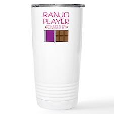 Banjo Player Quote Travel Mug