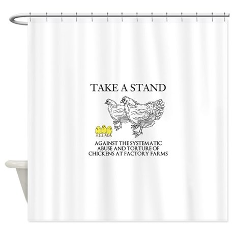 take a stand shower curtain by samsplace8