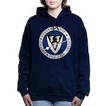 USS HALSEY Women's Hooded Sweatshirt