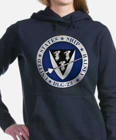 USS HALSEY Women's Hooded Sweatshirt