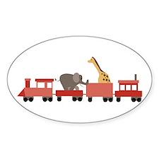 Animal Train Decal