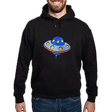 Cartoon UFO Flying Saucer Hoodie