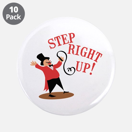 "Step Ringmaster 3.5"" Button (10 pack)"