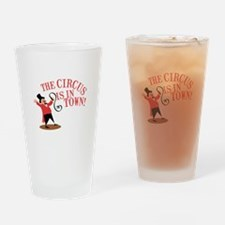 Ringmaster Town Drinking Glass