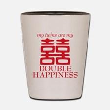 Double Happiness Shot Glass