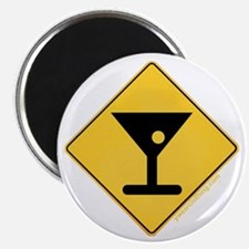 Crossing Zone Booze Magnet