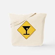 Crossing Zone Booze Tote Bag