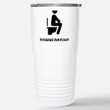 Downloading Toilet Travel Mug