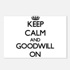 Keep Calm and Goodwill ON Postcards (Package of 8)