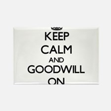 Keep Calm and Goodwill ON Magnets