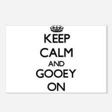 Keep Calm and Gooey ON Postcards (Package of 8)