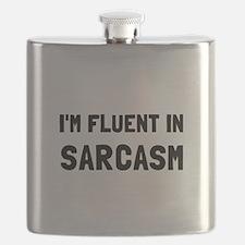 Fluent In Sarcasm Flask