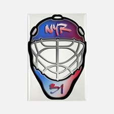 Cute Hockey rangers Rectangle Magnet