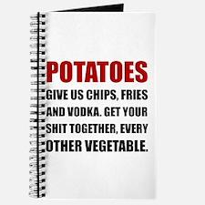 Potatoes Give Us Journal