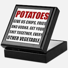 Potatoes Give Us Keepsake Box