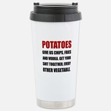 Potatoes Give Us Travel Mug