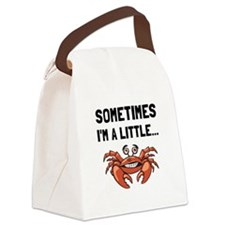 Sometimes A Crab Canvas Lunch Bag