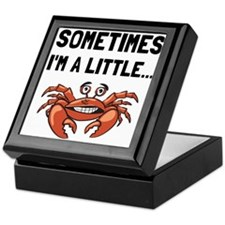Sometimes A Crab Keepsake Box