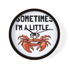 Sometimes A Crab Wall Clock